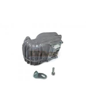 Muffler Exhaust Pipe Silencer Cover for STIHL 070 090 screws Bracket 1106 140 0502