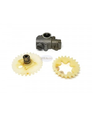 For STIHL 038 MS380 MS381 Oil Pump Assy with Worm Spur Gear (3pcs Kit) 1119 640 3200 Chainsaw