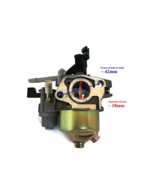 Carburetor Carburettor Carb Assy for Honda GX140 WA WT EM Engine Motor with choke lever and settlement bowl 16100-ZH8-800