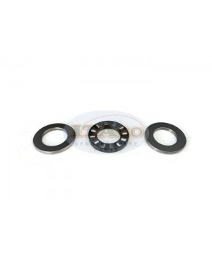 Boat Motor Thrust Bearing Set Kit 3pcs for Suzuki Outboard 9.9HP -15HP16HP 09263-20024 20L04 K 2 stroke Engine